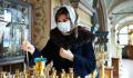Православных призвали не смущаться носить медицинские маски в храмах
