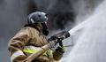 В Подмосковном Пушкино произошел пожар в промзоне