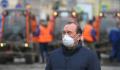 Заммэра Бирюков находится на месте пожара в коллекторе на севере Москвы