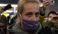 Полиция завершила обыск у жены Навального