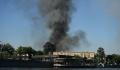 В районе Лужников увеличилась площадь пожара