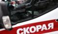 В центре Москвы произошло ДТП, в котором пешехода отбросило на автобус