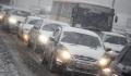 Первый снег привел к девятибалльным пробкам в Москве