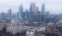 В Москве и области объявили желтый уровень опасности из-за тумана