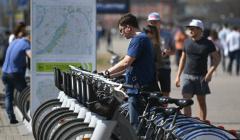 В Москве подсчитали количество поездок на городских велосипедах за июнь