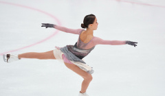 Щербакова победила на первом этапе Кубка России по фигурному катанию