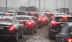 В среду вечером пробки в Москве могут достигнуть восьми баллов