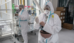 В Москве за сутки госпитализировали 597 человек с коронавирусом