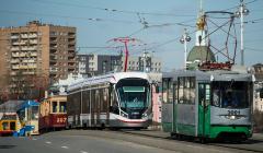 В Москве из-за погодных условий по некоторым улицам не ходят трамваи