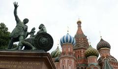 В Москве обнаружили около 30 артефактов возле памятника Минину и Пожарскому