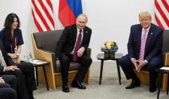 """О чем думают члены делегаций США: МИД РФ о """"красивой переводчице"""" Путина"""